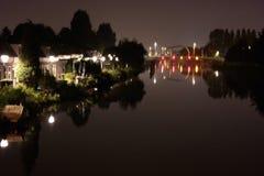 Pont de brug de Spaanse à Rotterdam photo stock