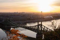 Pont de Budapest Images libres de droits