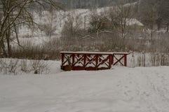 Pont de château de Hovdala Image stock