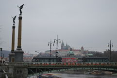 Pont de Chekhov Photographie stock