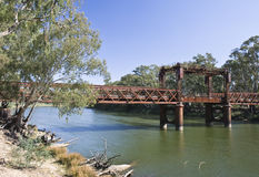 Pont de chemin de fer photographie stock libre de droits