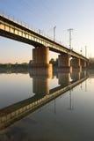 Pont de chemin de fer Photos stock
