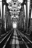 Pont de chemin de fer Photographie stock