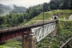 Pont de chemin de fer Photo libre de droits