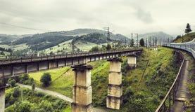 Pont de chemin de fer Photo stock