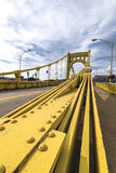 Pont de clemente de Roberto, Pittsburgh Photographie stock