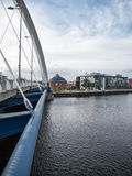 Pont de Clyde Arc, Glasgow Photos libres de droits