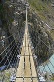 Pont de corde Photographie stock libre de droits