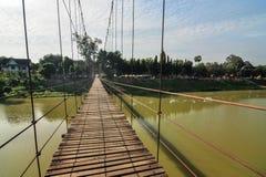 Pont de corde Images libres de droits