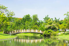 Pont de courbure Photos stock