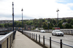 Pont de Craigavon, Derry, Irlande du Nord Images stock