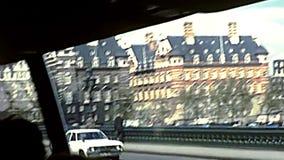 Pont de croisement de Westminster à Londres clips vidéos