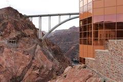 Pont de déviation de barrage de Hoover au-dessus du fleuve Colorado photo libre de droits