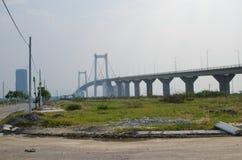 Pont de Danang Image libre de droits