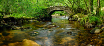 Pont de Dartmoor Photo libre de droits