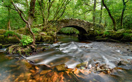 Pont de Dartmoor Images stock