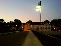 Pont de Donau Photos libres de droits