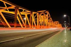Pont de Dongo, Corée du Sud Photo libre de droits