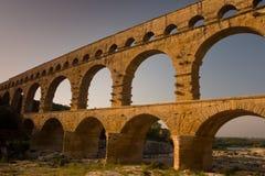pont de du le Gard Images stock