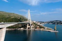Pont de Dubbrovnik Image libre de droits