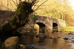Pont de Fingle Images stock