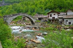 Pont de Fondo Image libre de droits