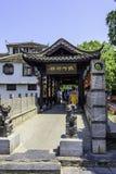 Pont de galerie de Quezhu Photos libres de droits