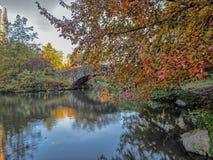 Pont de Gapstow en automne image libre de droits