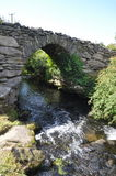 Pont de Garfinny dans Dingle, comté Kerry, Irlande Image stock