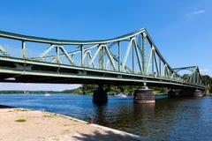 Pont de Glienicker en dehors de Potsdam, Allemagne image libre de droits
