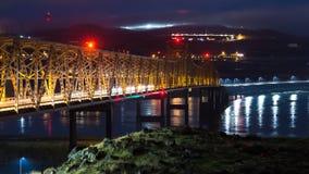 Pont de gorge du fleuve Columbia dans le Dalles clips vidéos