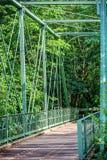 Pont de Greenway de Raritan Photo libre de droits