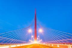 Pont de héros de Nan-Tchang Photographie stock libre de droits