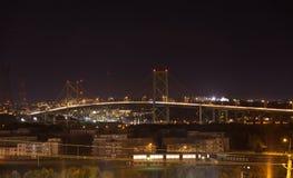 Pont de Halifax images libres de droits