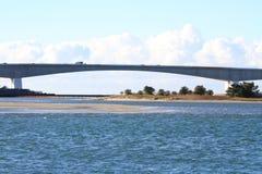 Pont de Hamana et lac Hamanako à Hamamatsu, Shizuoka Photographie stock libre de droits