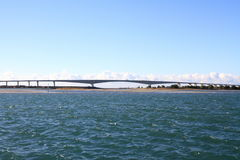 Pont de Hamana et lac Hamanako à Hamamatsu, Shizuoka Photos libres de droits