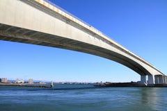 Pont de Hamana et lac Hamanako à Hamamatsu, Shizuoka Photo stock