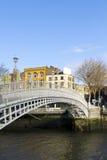 Pont de Hapenny Images stock