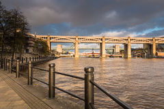 Pont de haut niveau photo libre de droits