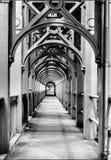 Pont de haut niveau, Newcastle Photo libre de droits