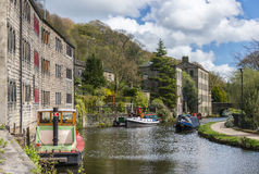 Pont de Hebden, West Yorkshire Images stock