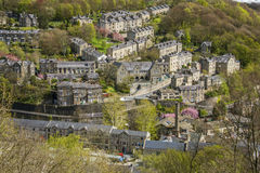 Pont de Hebden, West Yorkshire Image stock
