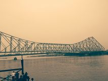 Pont de Howrah Image libre de droits