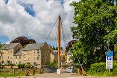 Pont de Jenson Button dans Frome, Somerset images stock