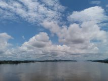 Pont de Kampuas Tayan Image libre de droits