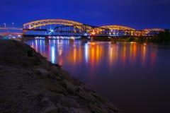 Pont de Kansas City Broadway Images libres de droits