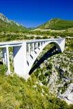 Pont de l'Artuby fotografia de stock