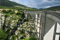 Pont De l'Artuby Lizenzfreies Stockfoto