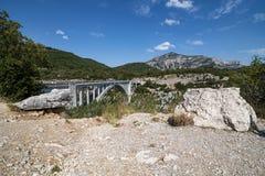 Pont De l'Aturby (Frances) Images libres de droits