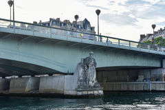 Pont de l& x27; Alma - Parigi, Francia Fotografia Stock Libera da Diritti